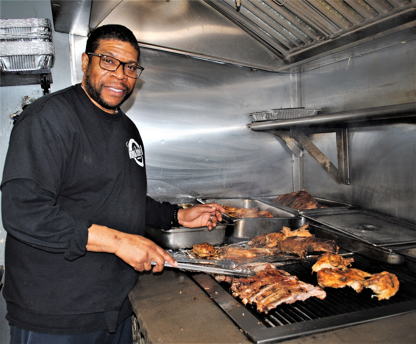 Chris Finnick, Owner, Mama's Southern Style BBQ 2