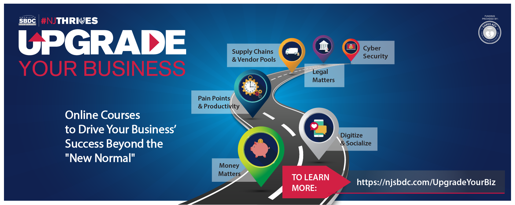 NJSBDC - Upgrade Your Business Webinars